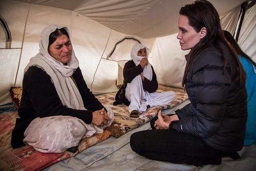 Special Envoy Angelina Jolie in Iraq