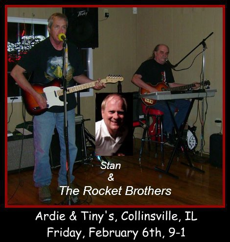 Stan & The Rocket Brothers 2-6-15