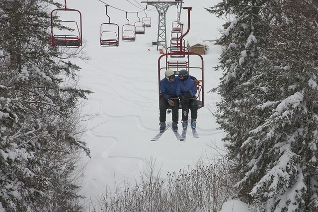 Chairlift speed dating at Black Mountain