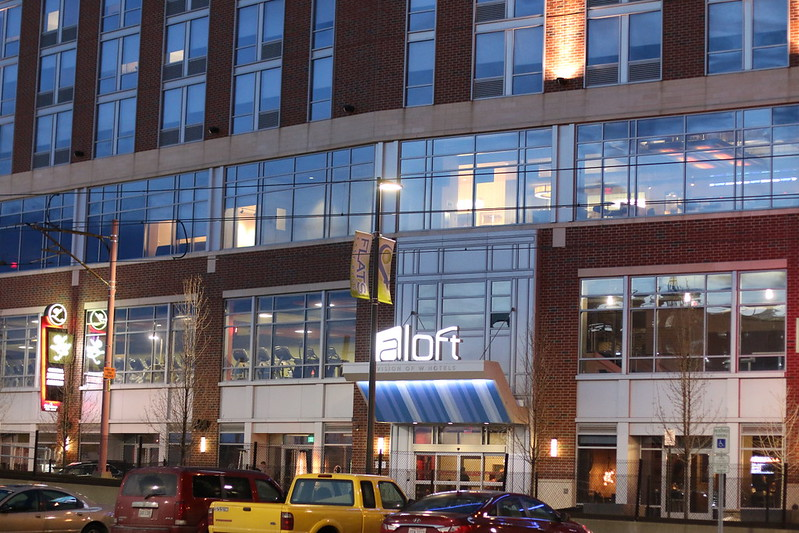 Aloft Cleveland Downtown Hotel, travel, Ohio, trip, lodging