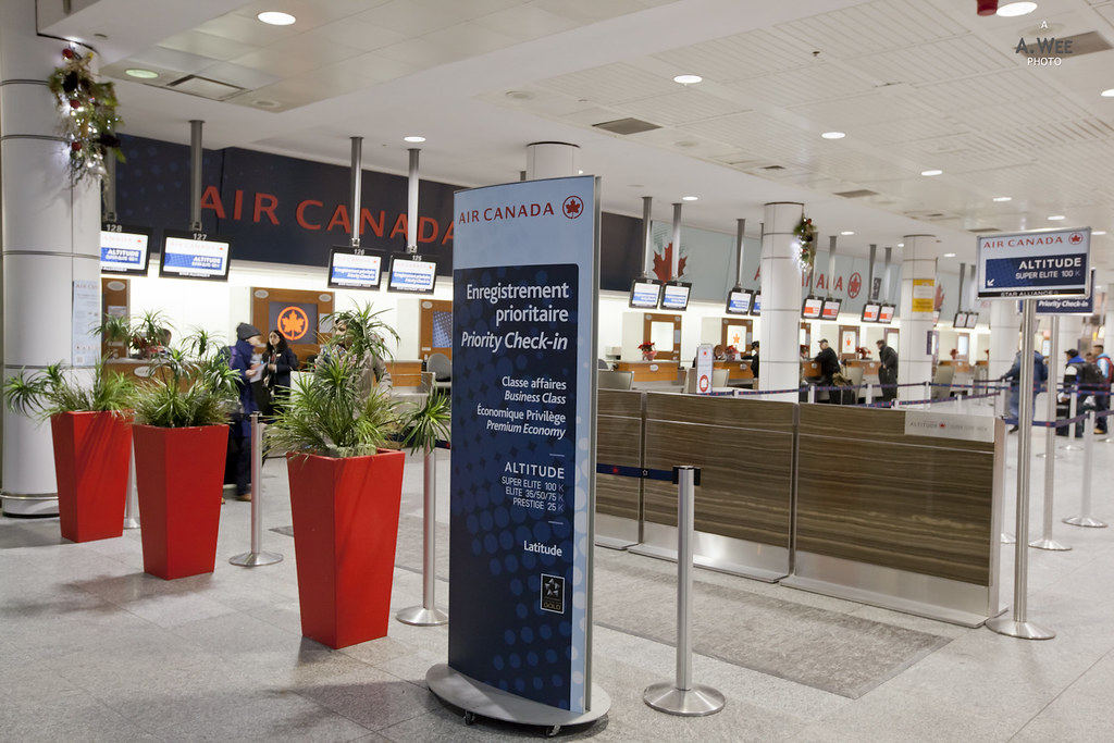 Air Canada Premium Check-in