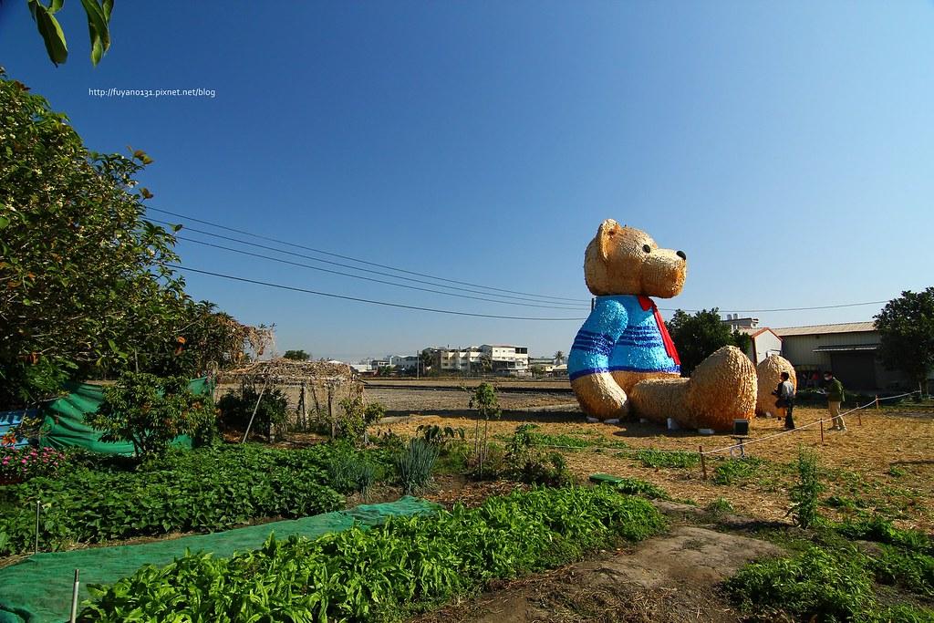 臺中地景藝術節 迷失小熊 (4)