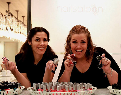 nailsaloon Owners Claudia Diamante and Andrea Vieira