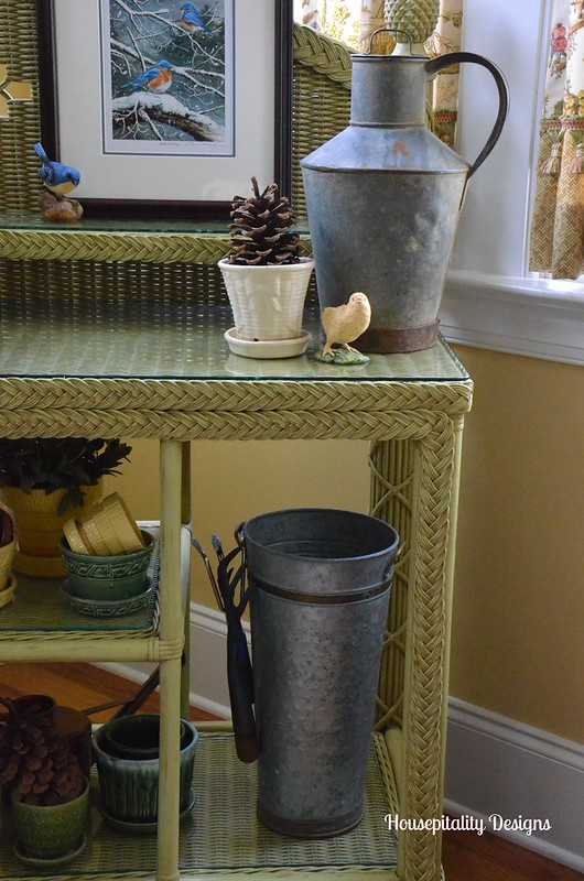 Sunroom potting bench-Housepitality Designs