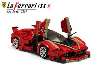 Ferrari LaFerrari FXX K (abu Dhabi 2014)
