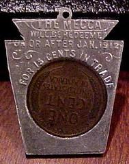 mecca 1910 obv