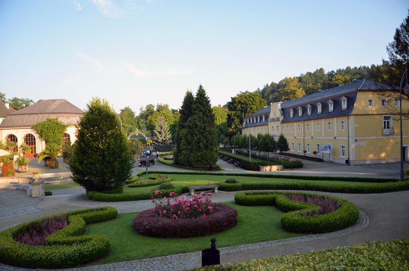 Park Kudowa Zdrój Poland