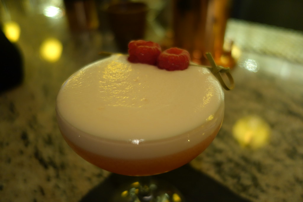 Forge & Co, Shoreditch: Clover Club Cocktail