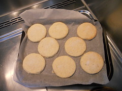 Clotted cream biscuits