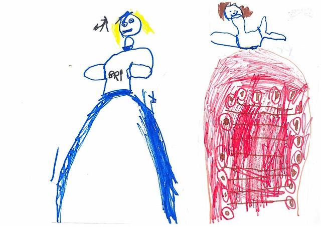 Tekeningen voor Prinses Marijke