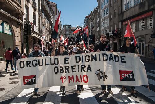 Primeiro de Maio en Compostela