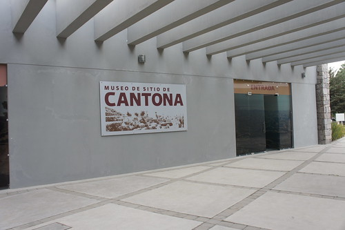 - The archeological site of Cantona, Puebla, Mexico