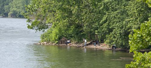 trees river fishing pittsburgh pennsylvania monongahela duckhollow