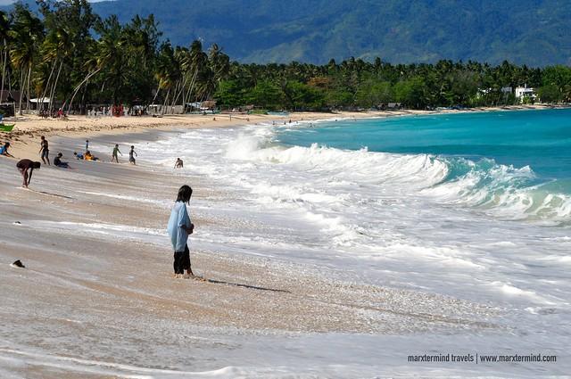 Dahican Beach Mati Davao Oriental