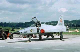 Image of F-5 Tiger. tiger f5 northrop dübendorf swissairforce