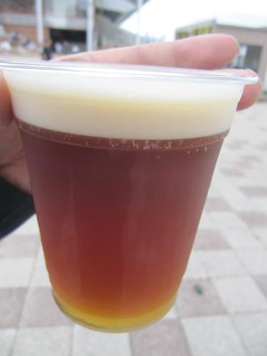 函館競馬場で売っていた大沼ビール