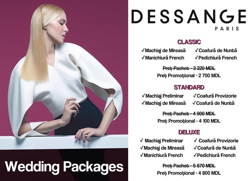 DESSANGE PARIS > Свадебные пакеты 2016 от DESSANGE