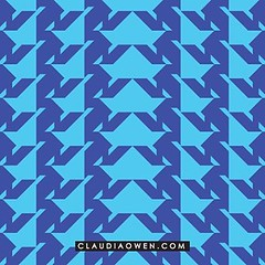 I think I'll use this pattern for my cards #surfacedesign