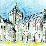 The new Minster, begun in 1070, by Stamford Bridge Tapestry Project