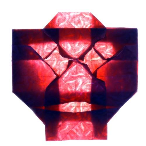 Origami Face  (Marjan Smeijsters)