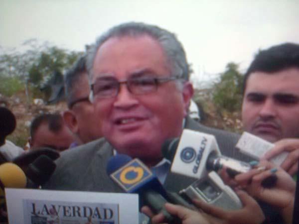 Arias Cárdenas no ha cumplido con su deber de asumir el relleno sanitario