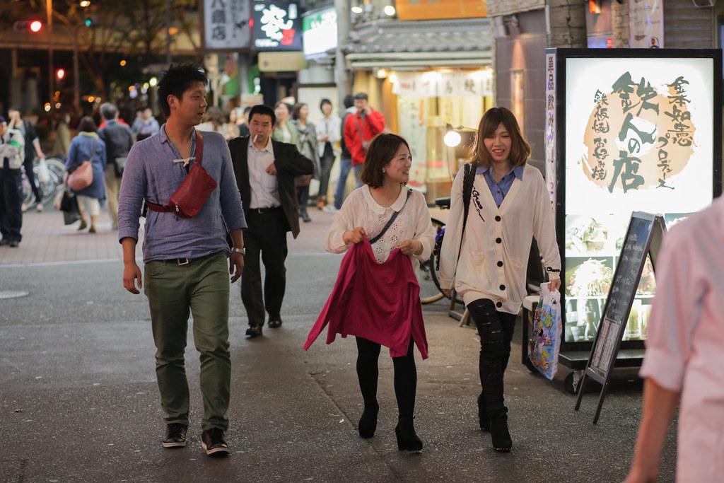 Sonezaki 2 Chome, Osaka-shi, Kita-ku, Osaka Prefecture, Japan, 0.013 sec (1/80), f/2.8, 85 mm, EF85mm f/1.8 USM