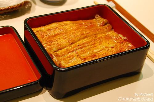 鰻魚飯(花size)特寫