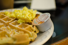 Another pic of a Marriott waffle