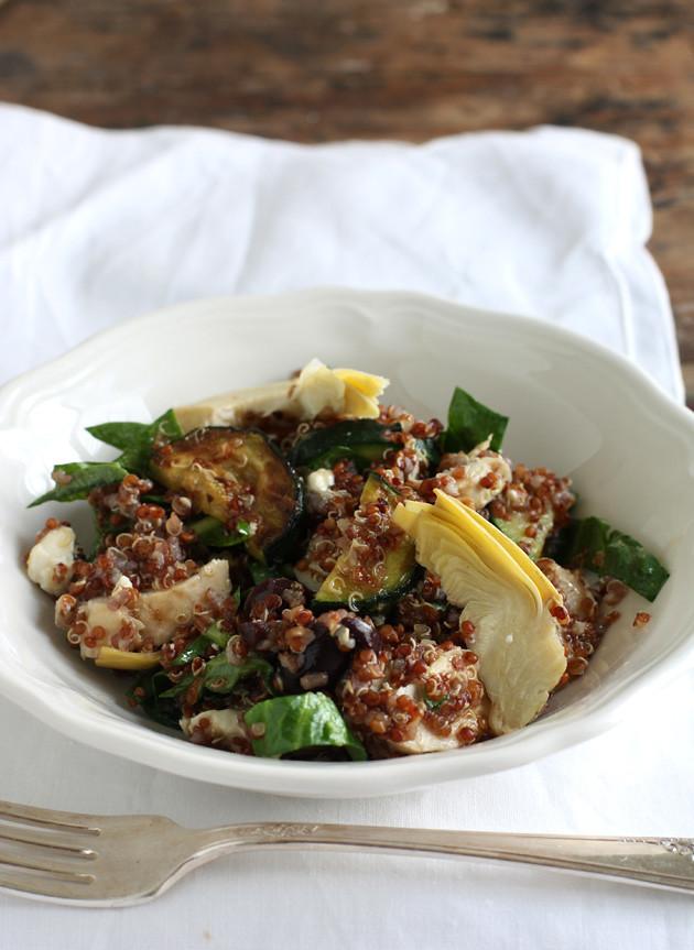 quinoa-salad-zucchini-artichokes