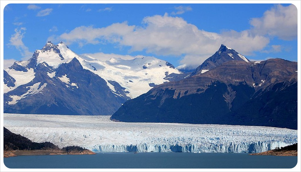 view of perito moreno glacier patagonia argentina