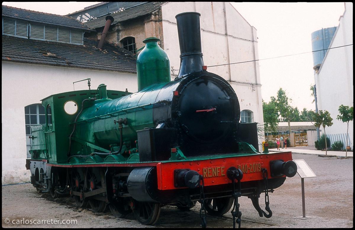"""Locomotora 040-2019, ex-norte 501 """"El Cinca"""""""