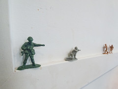 sketch(0.0), snow(0.0), drawing(0.0), army men(1.0), infantry(1.0), miniature(1.0),