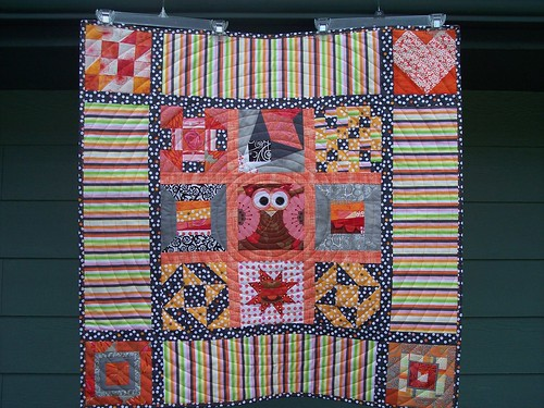 My Favorite Block Quilt along finish