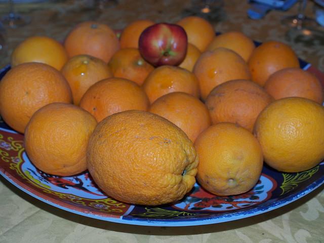 阿里之家晚餐-水果