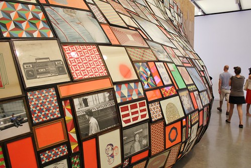 Wall Boil by Barry McGee