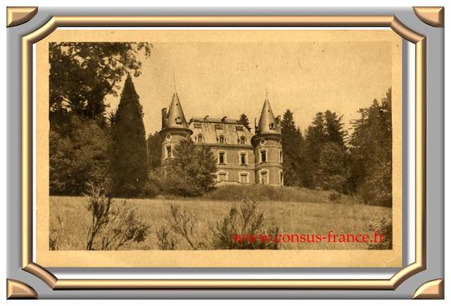 Le Château, de SAINT-GENEST-MALIFAUX -70-150