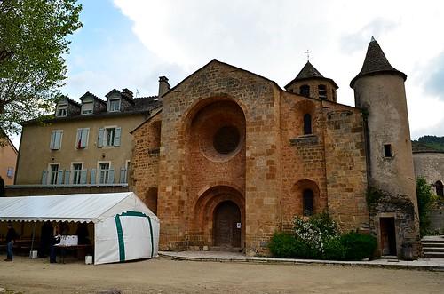 The church of Ispagnac