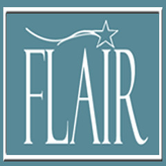 Flair Logo Blue Square