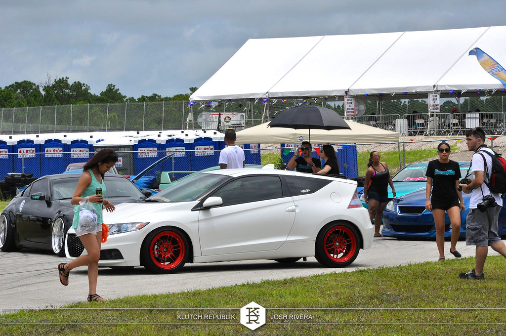 white honda crz red enki rpf1  slammed society at formula drift palm beach florida 2013 slammed dropped dumped bagged static coilovers hella flush stanced stance fitment low lowered lowest camber wheels tucked 16s 17s 18s 19s 20s 3piece 1 piece custom airbags scene scenester