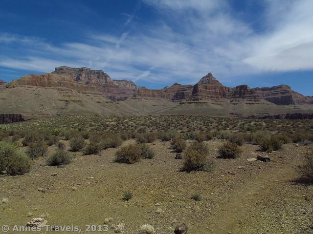 Tonto Trail beneath Horseshoe Mesa1