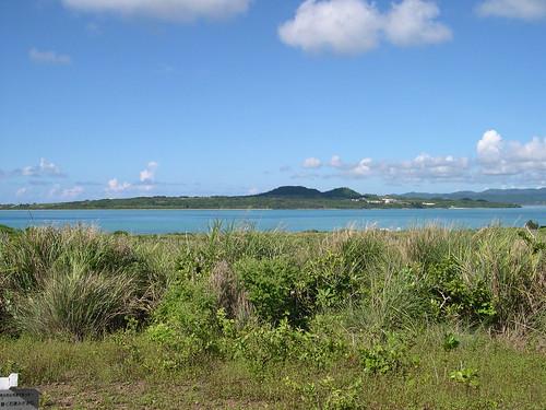 遠見の丘からの小浜島