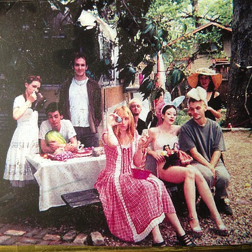 Easter in Fairyland circa 1998 (?) with Dame Darcy, Pandora Pumpkin, Black Jack Shellac, Brett Caraway, Kyle, Dougie & Misket. Still the best Easter egg hunt ever! Immortalized in Meatcake #11 or #13 (can't remember!)