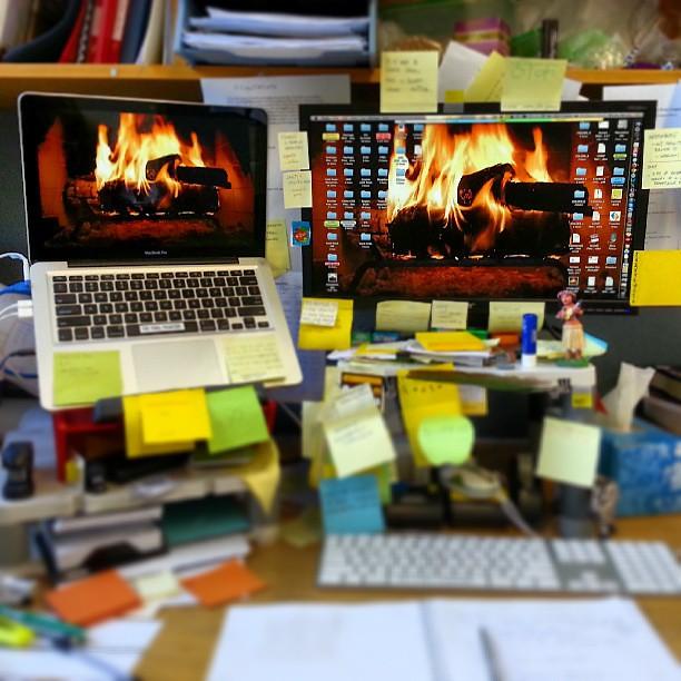 No heating at work? Kein Problem!