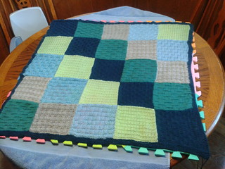 Jena's Due in July Blanket
