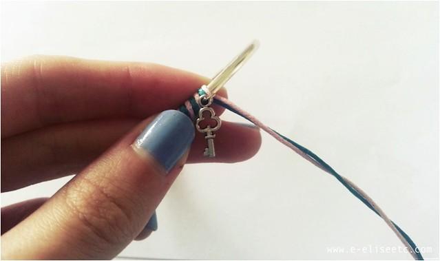 diy kate spade inspired bracelet 6