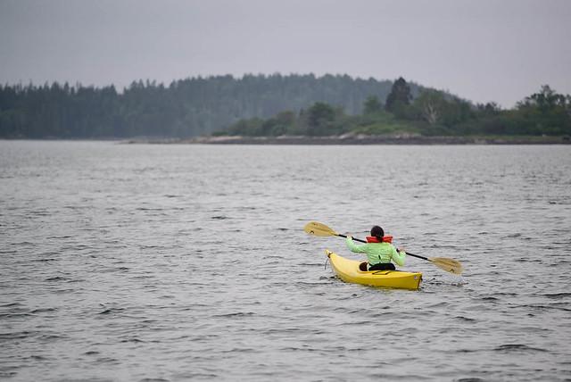 Heading to John's Island