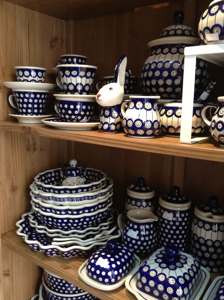 Polish ceramics. So cute.