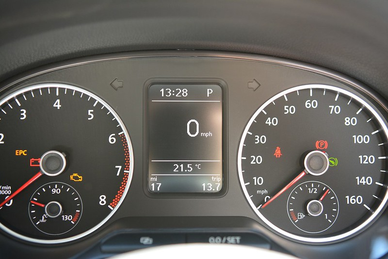 Blue GT MFD Second Speed Display (mph or km/h)? - UK-POLOS NET - THE