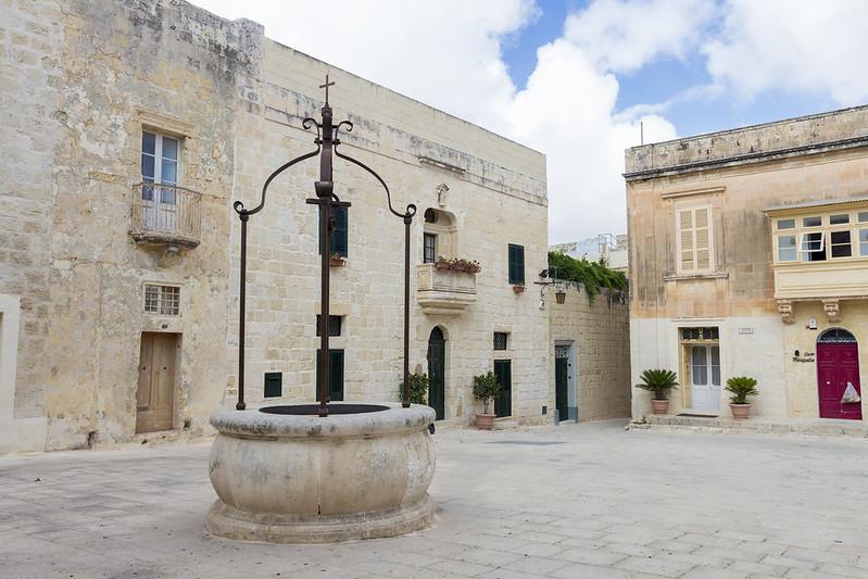 Well in Mdina - Malta