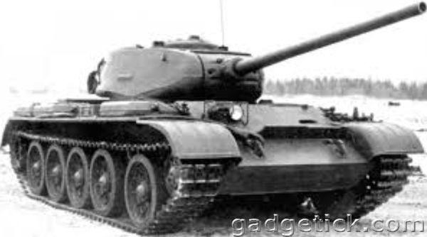 Танк А-44